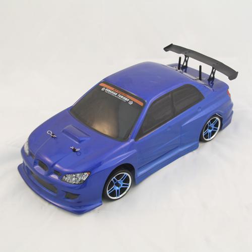 Радиоуправляемая машина для дрифта 1:10 4WD Subaru/Субару, синий (36 см)